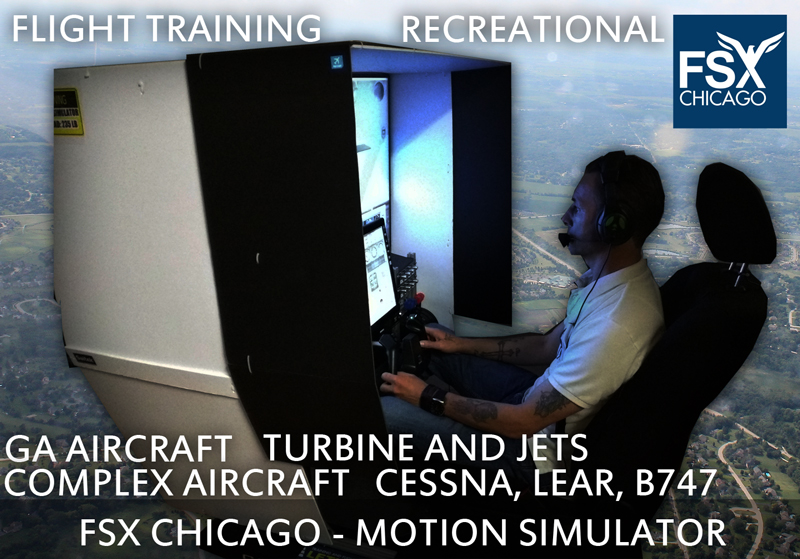 Motion Simulator - Flight School Chicago