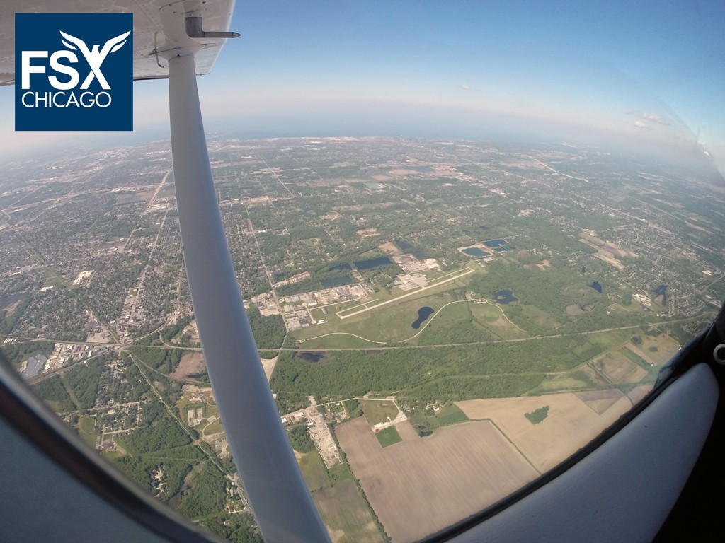 That's what flying is all about: Out, Up and About! Call 708-299-8246 and start your private license journey today!