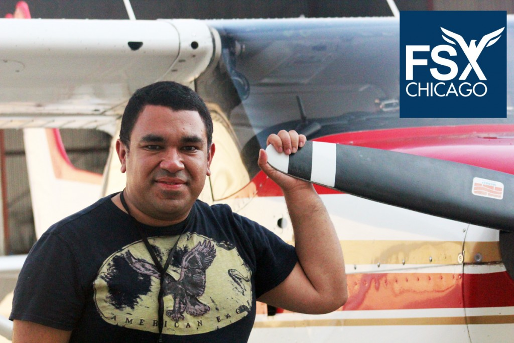 Fernando Jaramillo - AGI, CFI, CFII, ATP - Flight Instructor FSX Chicago - Flight School