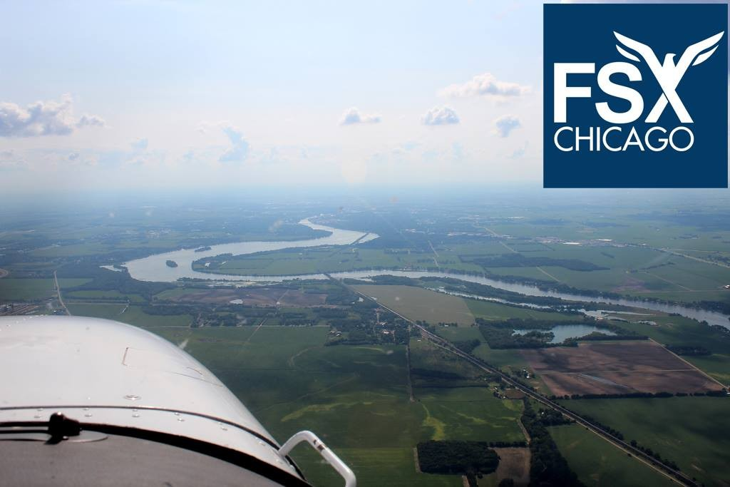 Discovery Flights at FSX Chicago : 708-299-8246