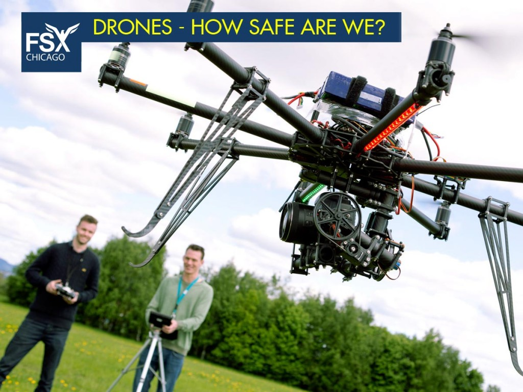 Unmanned Autonomous Vehicles (UAV) - Drone Safety - Call 708-299-8246 to register.