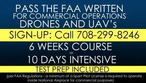 Drones Pilots / Sport Pilots Training - Call 708-299-8246