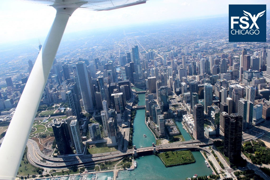 Skyline tours and Intro Flights - Call 708-299-8246 today!