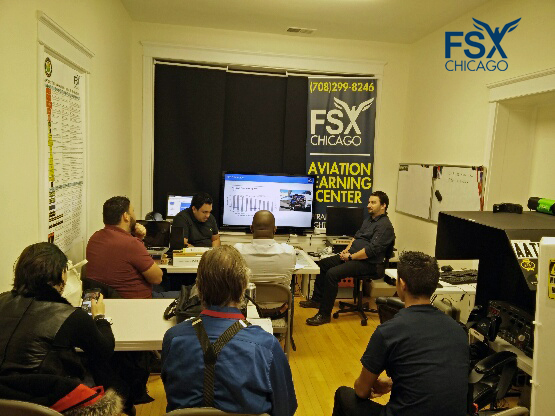 FSX Chicago Ground School and Classroom